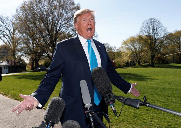 ABD Başkanı Donald Trump - Beyaz Saray