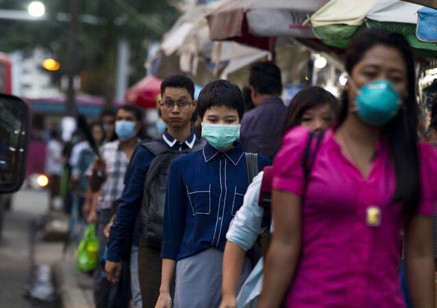Myanmar grip salgını