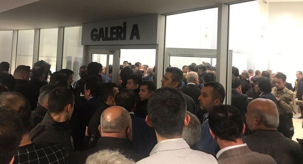 Maltepe'de yaşanan arbede