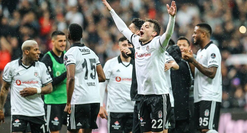 Spor Toto Süper Ligi'nde Beşiktaş ile Medipol Başakşehir, Vodafone Park'ta karşılaştı