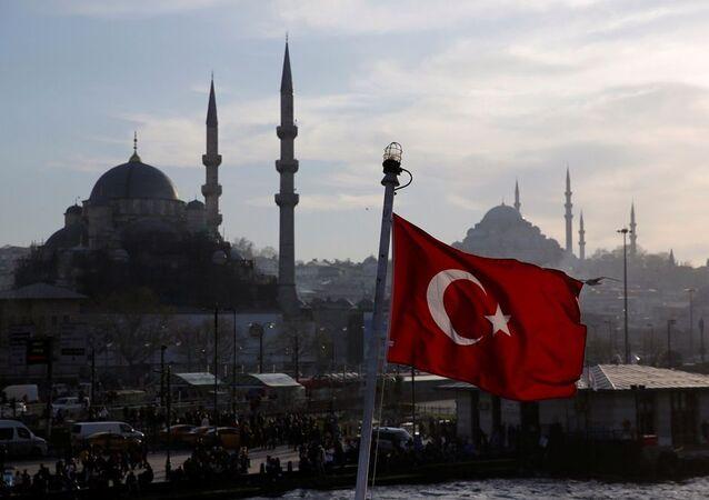 Türk bayrağı - İstanbul - Türkiye