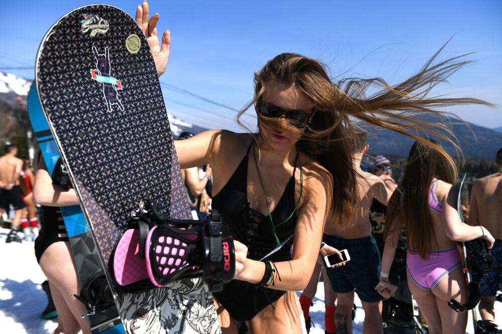 Sibirya'da GrelkaFest etkinliği