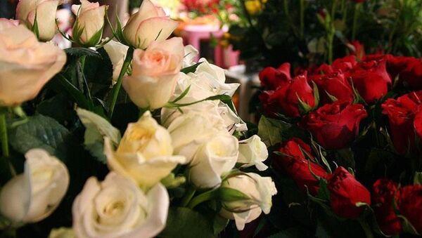 Çiçek - çiçekçi - Gül - Sputnik Türkiye