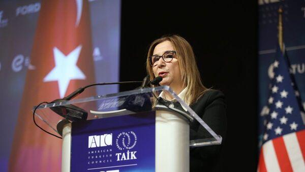 Ticaret Bakanı Pekcan: Hedefimiz ABD ile ticaret hacmimizi 75 milyar dolara çıkarmak  - Sputnik Türkiye