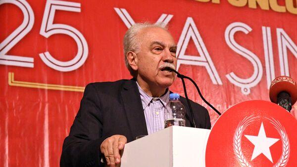 Vatan Partisi Genel Başkanı Doğu Perinçek 3 - Sputnik Türkiye