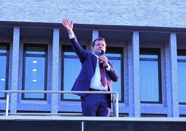 İstanbul Büyükşehir Belediye Başkanı Ekrem İmamoğlu