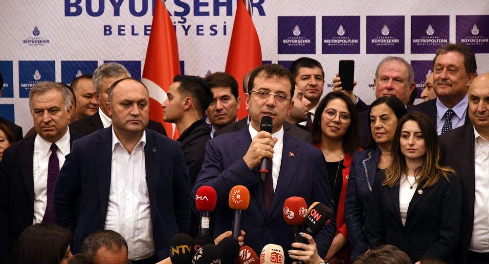 İstanbul Büyükşehir Belediye Başkanı Ekrem İmamoğlu 3