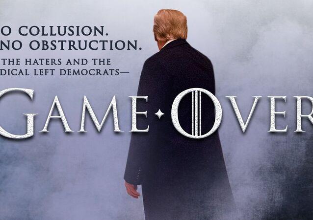 Mueller raporunun tamamının yayımlanmasının ardından Donald Trump'ın Taht Oyunları atıflı paylaşımı