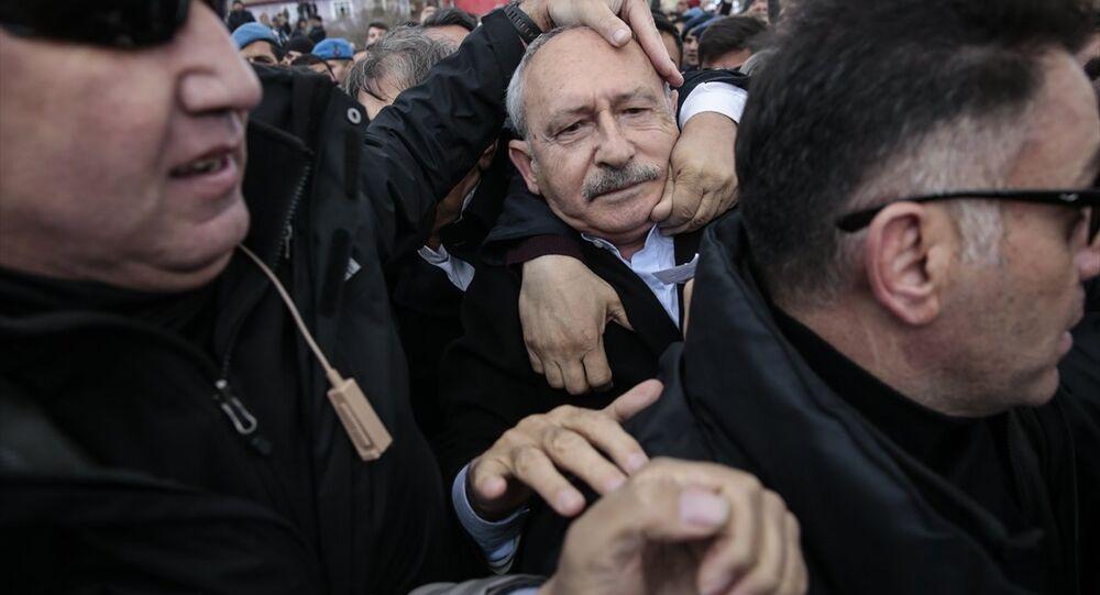 Kemal Kılıçdaroğlu'na saldırı