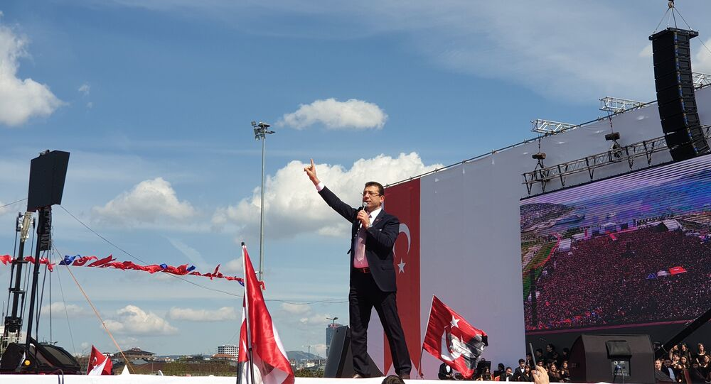 İstanbul Büyükşehir Belediyesi (İBB) Başkanı Ekrem İmamoğlu'nun Maltepe'deki 'İstanbul'a Yeni Bir Başlangıç Buluşması'