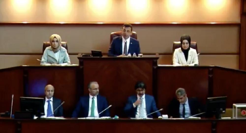 Ekrem İmamoğlu, İBB Meclis Toplantısı