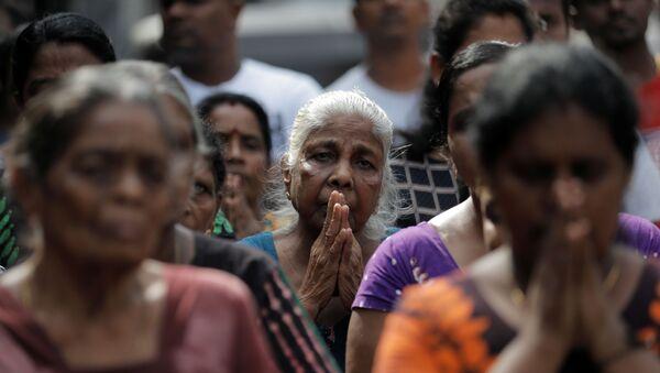 Sri Lanka'daki saldırılar için ülke çapında saygı duruşuda bulunuldu. - Sputnik Türkiye