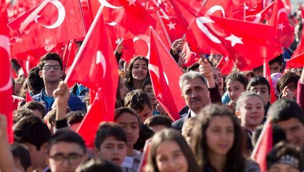 Çocuklar - 23 Nisan - Anıtkabir - Sputnik Türkiye