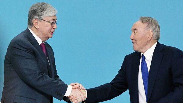 Kasım Cömert Tokayev-Nursultan Nazarbayev - Sputnik Türkiye