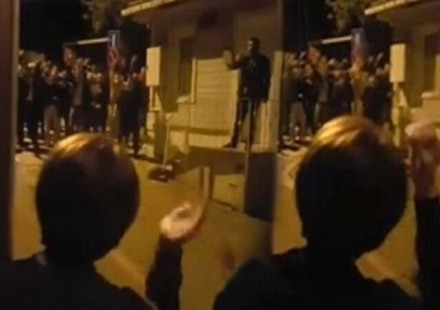 Akşener, protesto