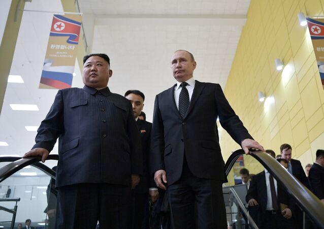 Vladimir Putin - Kim Jong-un