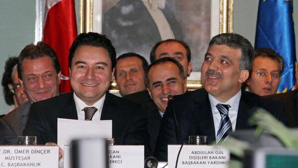 Ali Babacan - Abdullah Gül - Sputnik Türkiye
