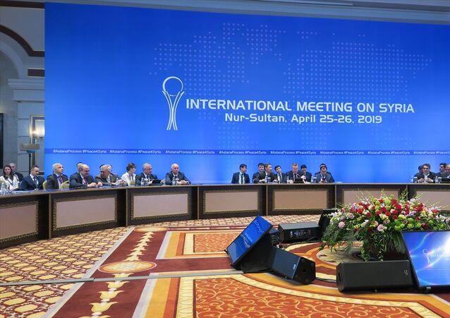 Suriye konulu 12. garantörler toplantısı sona erdi