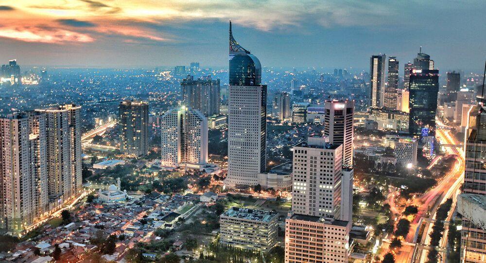 Endonezya başkenti Cakarta