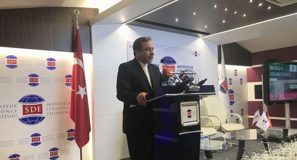 İran Dışişleri Bakan Yardımcısı Arakçi