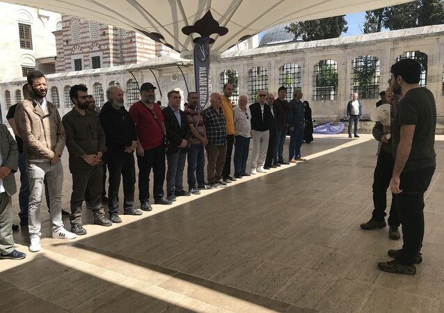 Antikapitalist Müslümanlar, 1 Mayıs, gıyabi cenaze namazı
