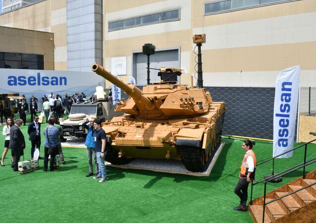 IDEF 2019 Aselsan M60 Tank Modernizasyonu