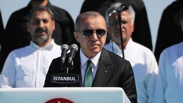 Recep Tayyip Erdoğan, Çamlıca Camii açılışı - Sputnik Türkiye