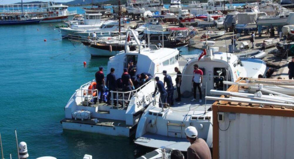 Ayvalık'ta göçmen taşıyan tekne battı: Dokuz kişi hayatını kaybetti