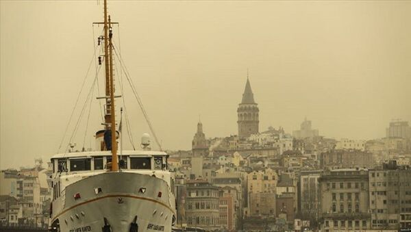 İstanbul - toz taşınımı  - Sputnik Türkiye