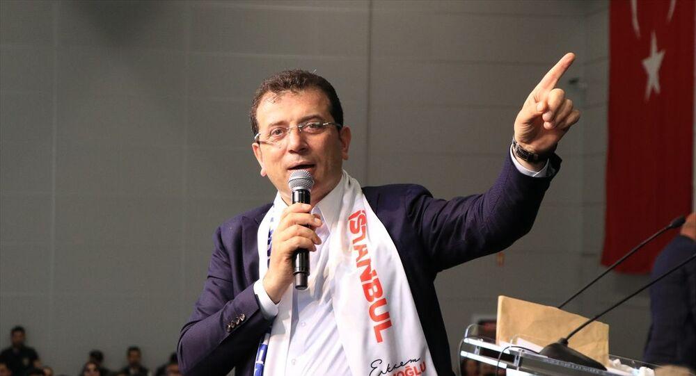 İstanbul Büyükşehir Belediye Başkanı Ekrem İmamoğlu (fotoğrafta), Yenikapı'daki Avrasya Gösteri ve Sanat Merkezinde düzenlenen İstanbul Gönüllüleri etkinliğine katıldı.