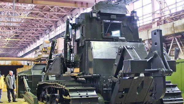 Rostec, yeni askeri traktörünü tanıttı - Sputnik Türkiye