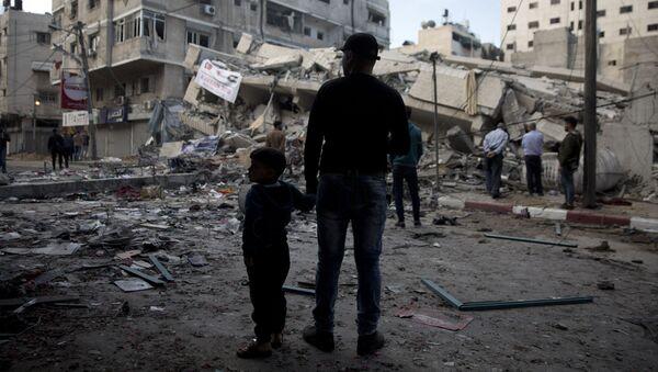 İsrail, Gazze'den atılan roketleri gerekçe göstererek saldırı başlattı. - Sputnik Türkiye