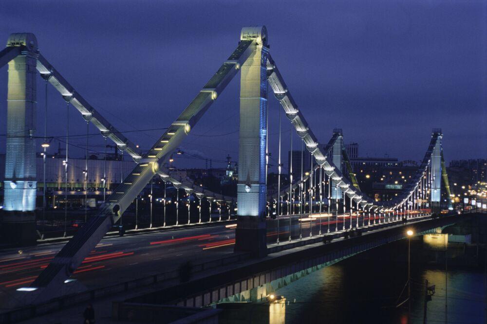 Moskovalılar tarafından en çok sevilen noktalardan biri Kırım Köprüsü.