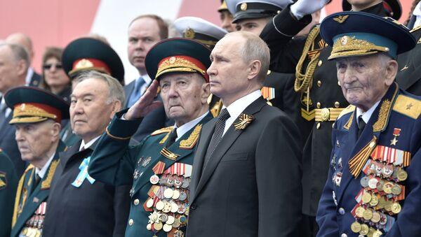 9 Mayıs Zafer Günü-Rusya Devlet Başkanı Vladimir Putin  - Sputnik Türkiye