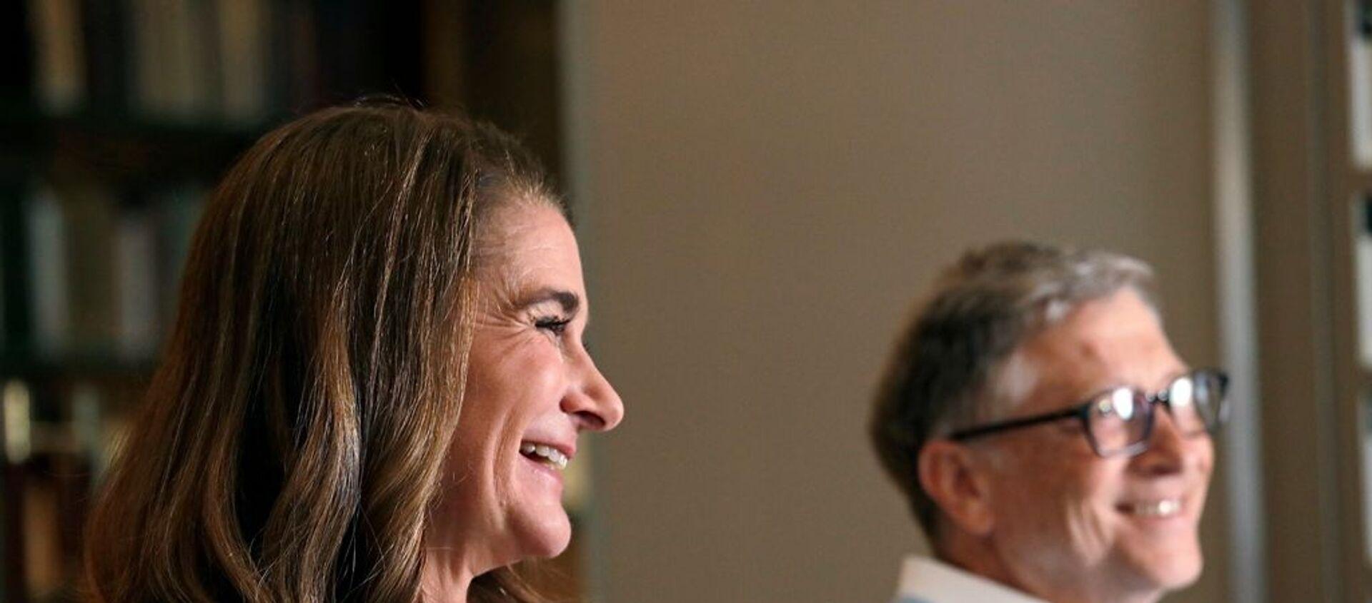 Bill Gates ve eşi Melinda Gates - Sputnik Türkiye, 1920, 03.05.2021
