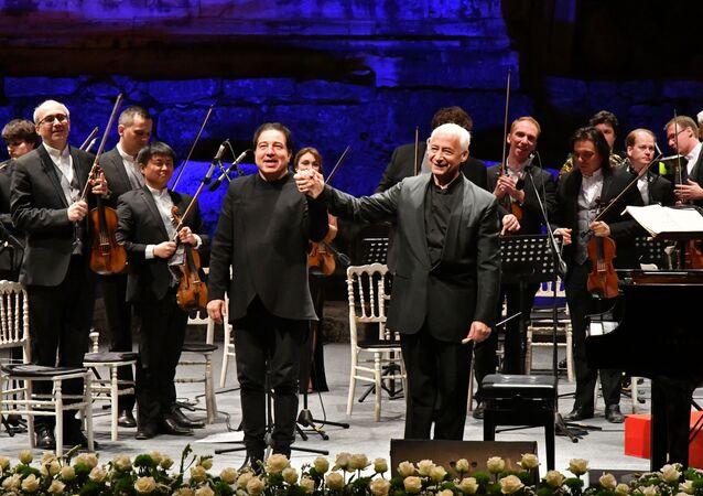 Türk - Rus Klasik Müzik Festivali Fazıl Say ve Vladimir Spivakov
