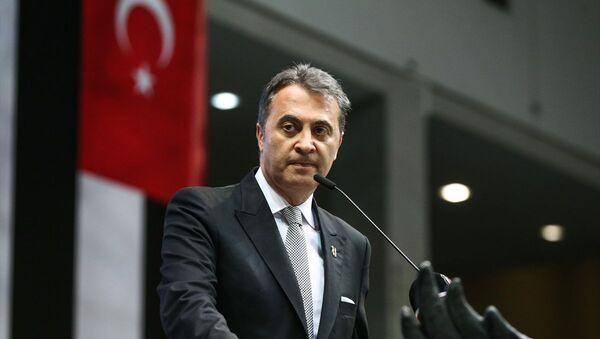 Beşiktaş olağan seçimli genel kurulunda 5. kez başkanlığa seçilen Fikret Orman - Sputnik Türkiye