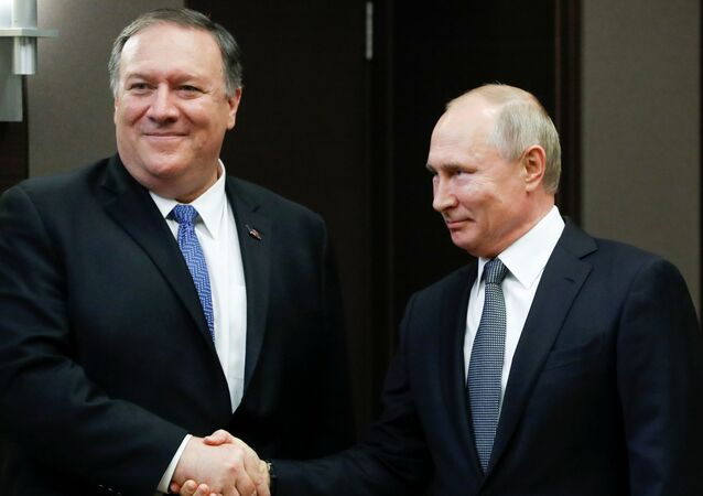 'Putin ile Pompeo, iyi ve somut bir görüşme gerçekleştirdi'