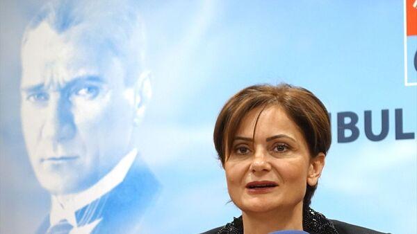 CHP İstanbul İl Başkanı Canan Kaftancıoğlu - Sputnik Türkiye