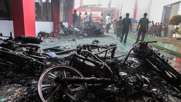 Endonezya'da 154 mahkum firar etti - Sputnik Türkiye