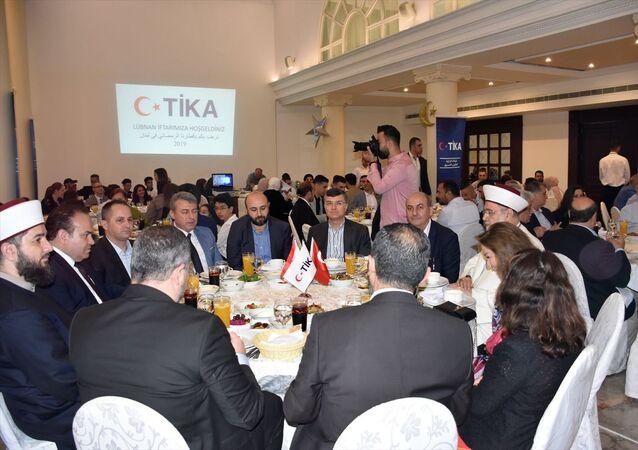 Türk İşbirliği ve Koordinasyon Ajansı Başkanlığı (TİKA), Lübnan'da yaşayan Mardinliler için başkent Beyrut'ta iftar programı düzenledi.