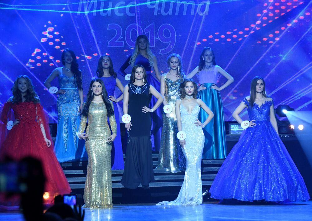 Yarışmanın finalinde Çita Güzeli 2019 unvanı için 11 güzel yarıştı.