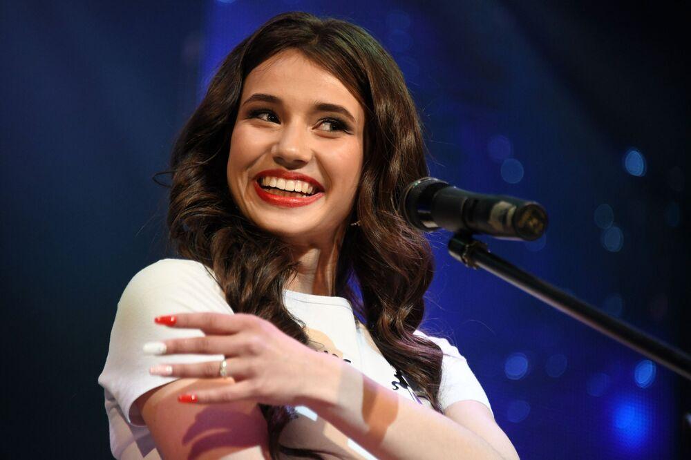 Yarışmada ikinciliğe layık görülen Yelizaveta Suturina.