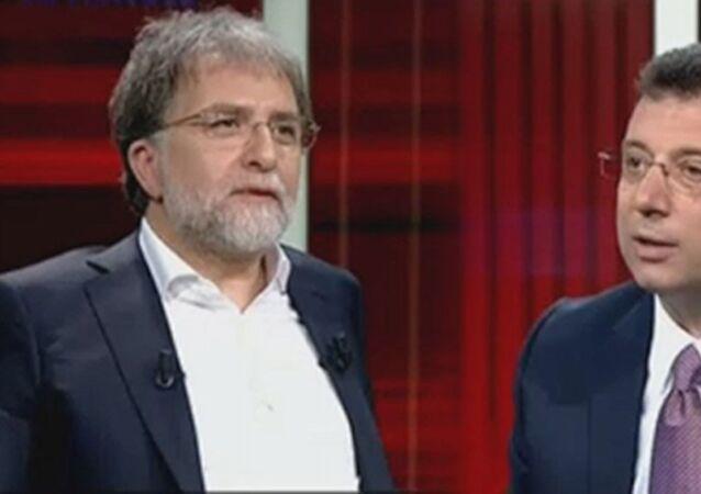 Ekrem İmamoğlu'nun konuk olduğu ve Ahmet Hakan'ın sunduğu Tarafsız Bölge programı