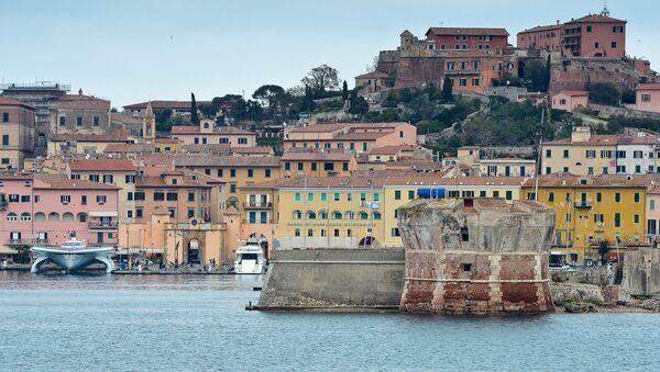 İtalya Elba Adası - Sputnik Türkiye