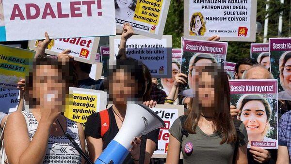'Şule Çet' eyleminde taciz iddiası - Sputnik Türkiye