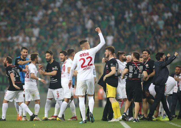 Fatih Karagümrük, Spor Toto 1. Lig'e yükseldi