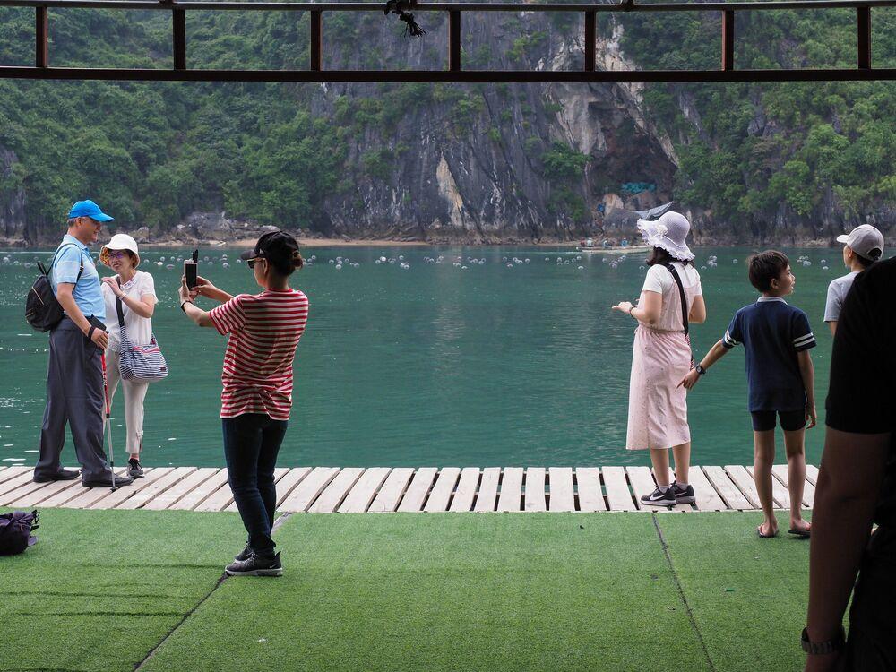 Vietnam'daki Ha Long Körfezi de turistler tarafından en çok fotoğraflanan mekanlar arasında yer aldı.