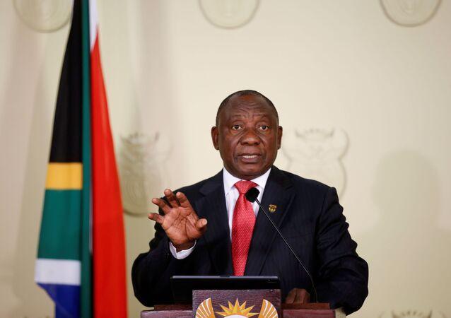 Güney Afrika Cumhuriyeti'nde devlet başkanı seçilen Cyril Ramaphosa