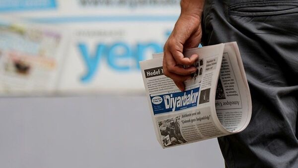 Yerel gazete - Diyarbakır - Sputnik Türkiye